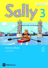 Sally 3 Activity Book mit Audio-CD und Portfolioheft