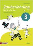 Zauberlehrling - Richtig schreiben 3, Arbeitsheft SAS (2014)