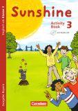 Sunshine 3 Activity Book m. Audio-CD, Minibildkarten und Faltbox