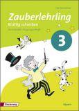 Zauberlehrling - Richtig schreiben 3, Arbeitsheft VA (2014)