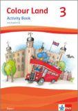Colour Land 3, Activity Book mit Audio-CD